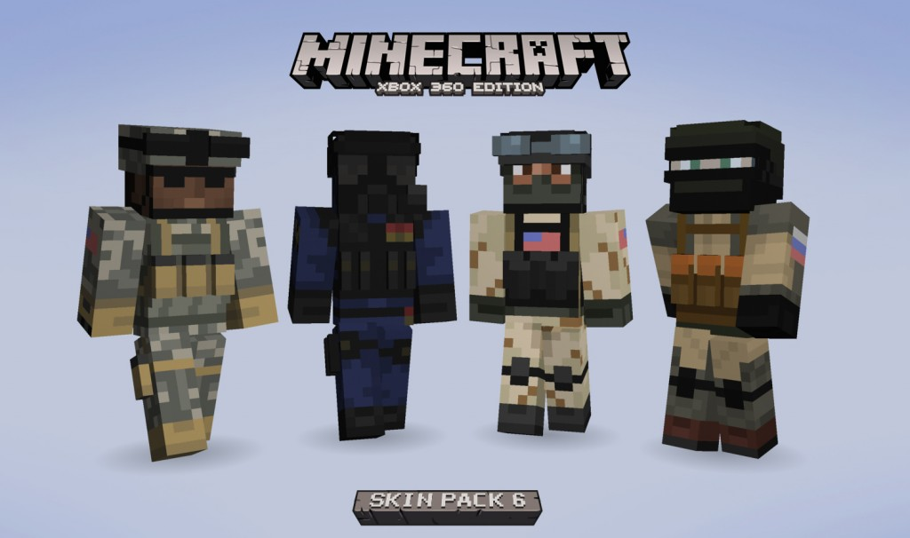 Now Available: Minecraft Skin Pack 6 – Gaming Treehouse